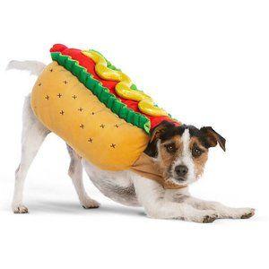 Hot Dog Dog Costume - Tiny Small Dog